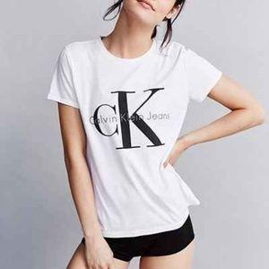 Calvin Klein Jeans White Tee